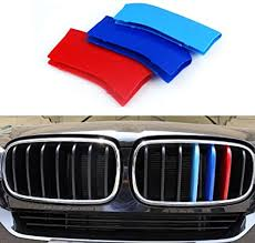 <b>3 Colour</b> Front Center Grill Grille Cover Trim <b>3pcs</b> for BMW X3 G01 ...