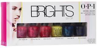 """<b>OPI Набор</b> мини-лаков для ногтей """"Brights Edition"""", 6 х 3,75 мл ..."""