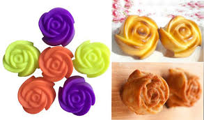 <b>New 10</b>*Mini Rose Shape <b>Silicone</b> Mold Chocolate Muffin Cake ...