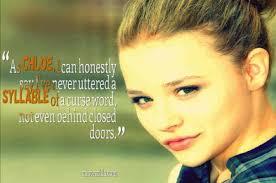 Quotes by Chloe Moretz @ Like Success via Relatably.com