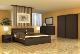 f simple modern bedroom decorating ideas with calm wall color shades and contemporary dark brown oak bedroom furniture sets plus cool striped rugs on bedroom contemporary furniture cool