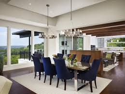 Tufted Dining Room Sets Blue Tufted Chairs And Classy Dining Table For Luxuirious Dining