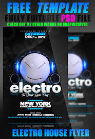 electro house flyer psd by stormclub on electro house flyer psd by stormclub