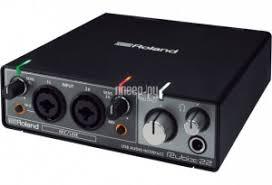 <b>Аудиоинтерфейс</b> Roland Rubix22