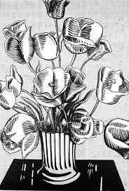 <b>Black Flowers</b> - Roy Lichtenstein | The Broad