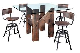 tall dining chairs counter:  gorgeous dining room design ideas using reclaimed wood counter height dining table outstanding ideas for