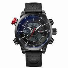 <b>WEIDE Men's</b> Sports Watch Quartz Back Light Wristwatch Military ...
