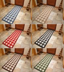 Rubber Kitchen Floors Details About Non Slip Rubber Backing Long Narrow Hall Rugs