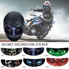 <b>Helmet Decoration Sticker Detachable</b> Motorcycle Racing Helmet ...