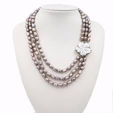LiiJi Unique New <b>Fashion Natural Freshwater Baroque</b> Pearl 3 ...