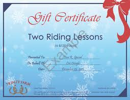 give the gift of horses this holiday trinity farm not