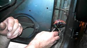 how to fix door speakers on jeep cherokee fixing broken wires in how to fix door speakers on jeep cherokee fixing broken wires in door jamb