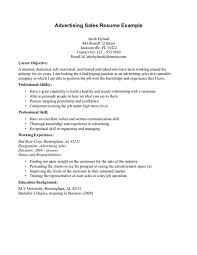 resume template  great objective for a resume  great objective for    what is objectives on a resume   working experience as advertising  s