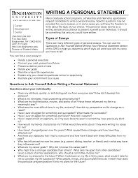 writing a personal statement for graduate school
