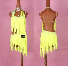 Shiny <b>Rhinestones Latin Dance</b> Dress Women Salsa Costumes ...