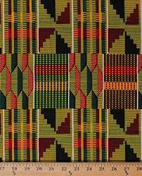 Cotton African Design Abstract Geometric Stripes ... - Amazon.com