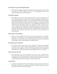 Things to write in your personal statement cv   Education Essay     Statement