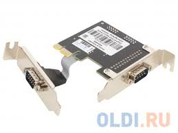 <b>Контроллер</b> PCI-E, 2S port,<b>WCH382</b>,модель PCIe2SLWCH,low ...