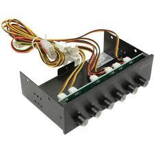 """Контроллер вентиляторов с панелью 5.25"""" <b>Akasa</b> AK-FC-08BKV2 ..."""