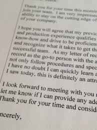 the proper etiquette following a job interview certified resume the proper etiquette following a job interview