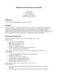 resume examples sample rn resume objective school nursing resume resume examples rn resume resume example objective career target and profile information summary or