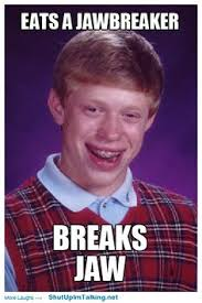 Unlucky Brian! on Pinterest   Bad Luck Brian, Christian Music and ... via Relatably.com