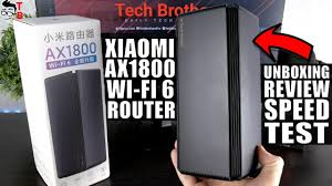 <b>Xiaomi AX1800 Wi-Fi</b> 6 <b>Router</b> - REVIEW, Unboxing, Speed Test ...