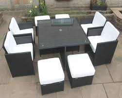 black rattan garden furniture black garden furniture