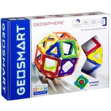 <b>Магнитный конструктор Geosmart</b> Геосфера, 31 деталь ...