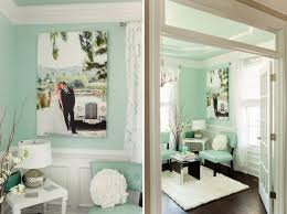 shabby chic feminine office space white desk pottery barn chic mint teal office