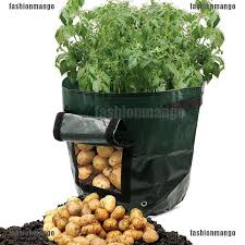 <b>Planting</b> Bags <b>Grow</b> Bag <b>Potato</b> Cultivation Garden Pot Planters PE ...
