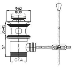 <b>Донный клапан Cezares Articoli</b> Vari CZR-SA2