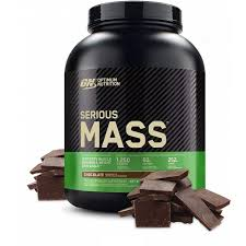 Optimum Nutrition <b>Serious Mass Protein</b> Powder, Chocolate, 50g ...