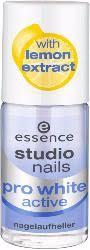 <b>Отбеливающий лак</b> для ногтей Pro White Active <b>Essence</b> купить ...