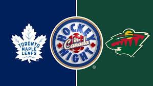 Hockey Night in Canada: Maple Leafs vs. Wild | CBC Sports