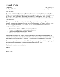good cover letter for college student recently cover letter sample for internship graduated bachelor degree of computer science from university of new