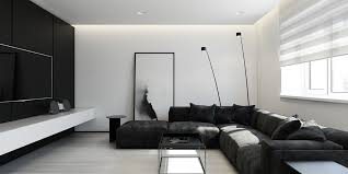 6 perfectly minimalistic black and white interiors black white interior design