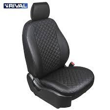 """<b>Авточехлы Rival</b> """"<b>Ромб</b>"""" (спинка 40/60) для сидений Nissan ..."""