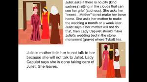 romeo and juliet act scene summary romeo and juliet act 3 scene 5 summary