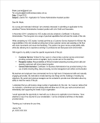 administrative assistant email cover letter format of email cover letter