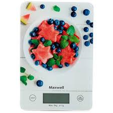 Характеристики модели <b>Кухонные весы Maxwell MW</b>-<b>1478 MC</b> на ...