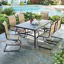 Belleville <b>7Piece</b> Padded Sling <b>Outdoor Dining</b> Set * Clicking on the ...