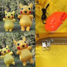 <b>Pikachu</b> Funny <b>Inflatable Costume</b> Party Cosplay <b>Costumes</b> For Adult