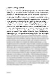 macbeth   diary entry   creative writinng   essayaufsatz macbeth   diary entry   creative writinng we already have one son his name is