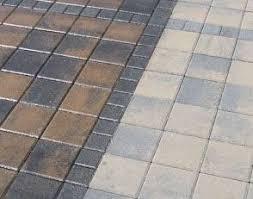 concrete pavers diy patio gardening pinterest