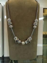Pandora necklace featuring the Masai Giraffe bead. <b>Just</b> beautiful ...