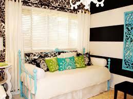 green blue bedroom