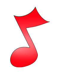 Image result for coloured single music notes