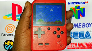 <b>Mini Portable Handheld Games</b> Console, Retro Game Player with ...