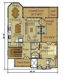 Three Bedroom Cottage  HWBDO     Cottage House Plan from    Small Cottage Floor Plan